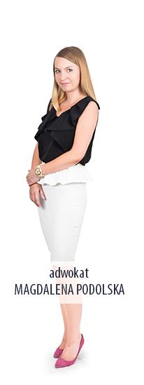 adwokat Magdalena Podolska